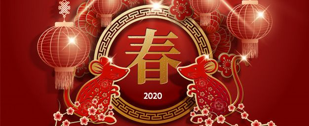 Chinese New year 2020 starts in January