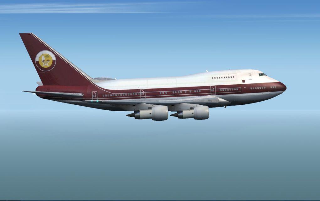 Le gagnant : Sébastien Ramon, Arrivée à Hong Kong en 747SP sous FS9