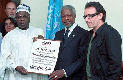 Bono - Sommet du millénaire des Nations Unies -07/09/2000