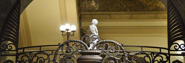 Un Palais, une banque et un Musée