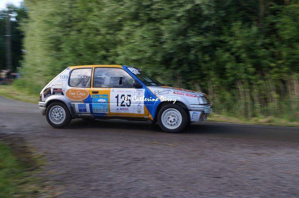 1 Rallye du Marquenterre   ES1 La haie Penée