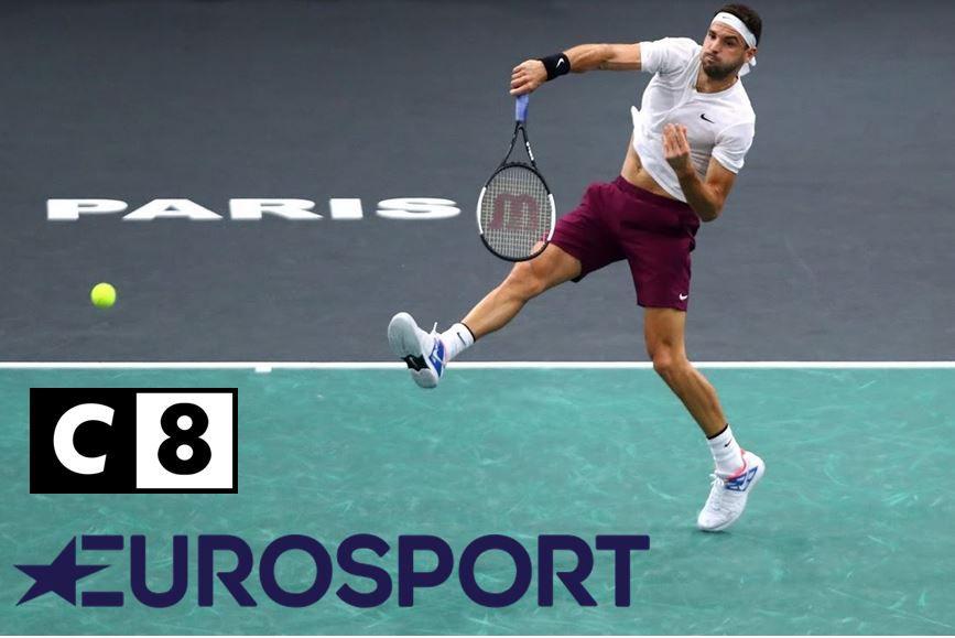 Zverev / Medvedev (Finale du Rolex Paris Masters) en direct ce dimanche sur Eurosport et C8 !
