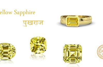 How to Wear and how should wear Yellow sapphire stone