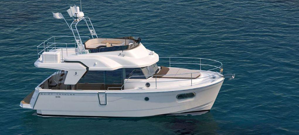 SCOOP - Toute première présentation du nouveau Bénéteau Swift Trawler 35 !