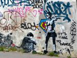 It's time to dance, street-art pour le nouvel an 2015