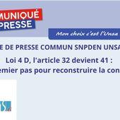 Loi 4D : Tout danger n'est pas écarté, restez mobilisé.es - A&I UNSA