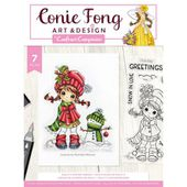 CF-STP-MOLWF : Crafter's Companion Clear Stamps B FEE DU SCRAP