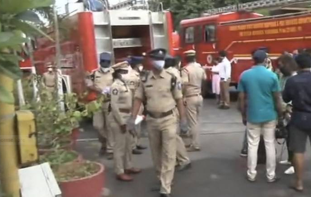 Coronavirus: 10 die in fire at hotel used as Covid care facility in India