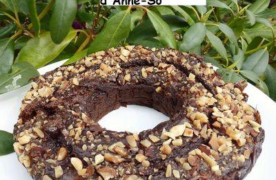 Gâteau chocolat, avocat, fleur de sucre de coco à la farine de riz au Vitaliseur Marion