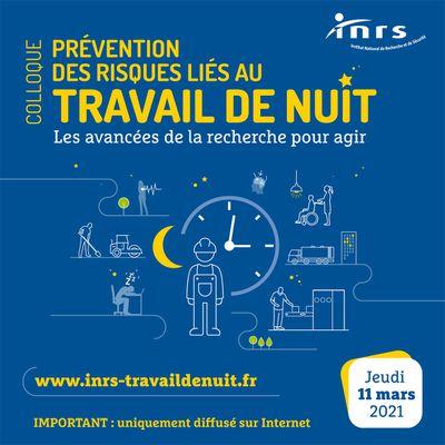 Colloque Prévention des risques liés au travail de nuit