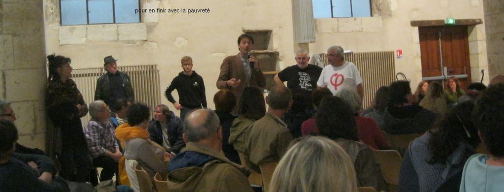 18 mai - 19h30, oratoire de La Rochelle, Cédric Ruffié et Yhlem Dekkiche vous invitent à parler travail, droits sociaux, emploi...