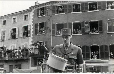 Les présidents de la république et l'Auvergne: Le général De Gaulle