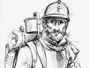 Histoire de poilus : Adhémart COMMANS (1882 - 1917)