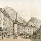 Grenoble - Restauration et second empire (1815-1870) - GRENOBLE - la ville et sa région