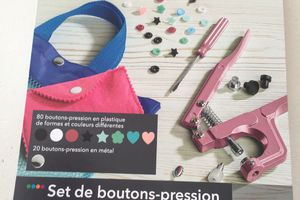 Boutons pressions accessoires