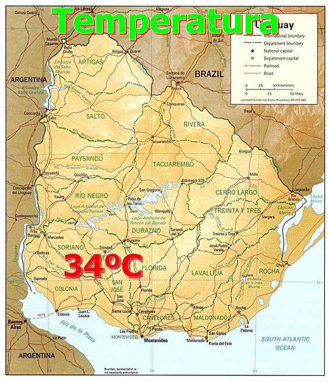 Presion, Temperatura, Velocidad del Viento y Sector, Probabilidad de lluvias