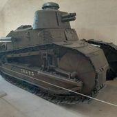 Chronique des blindés : le char Renault FT du Musée de l'Armée