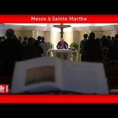Sainte Marthe 17 mai 2020 Pape François