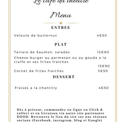 menu du mardi 4 mai 2021