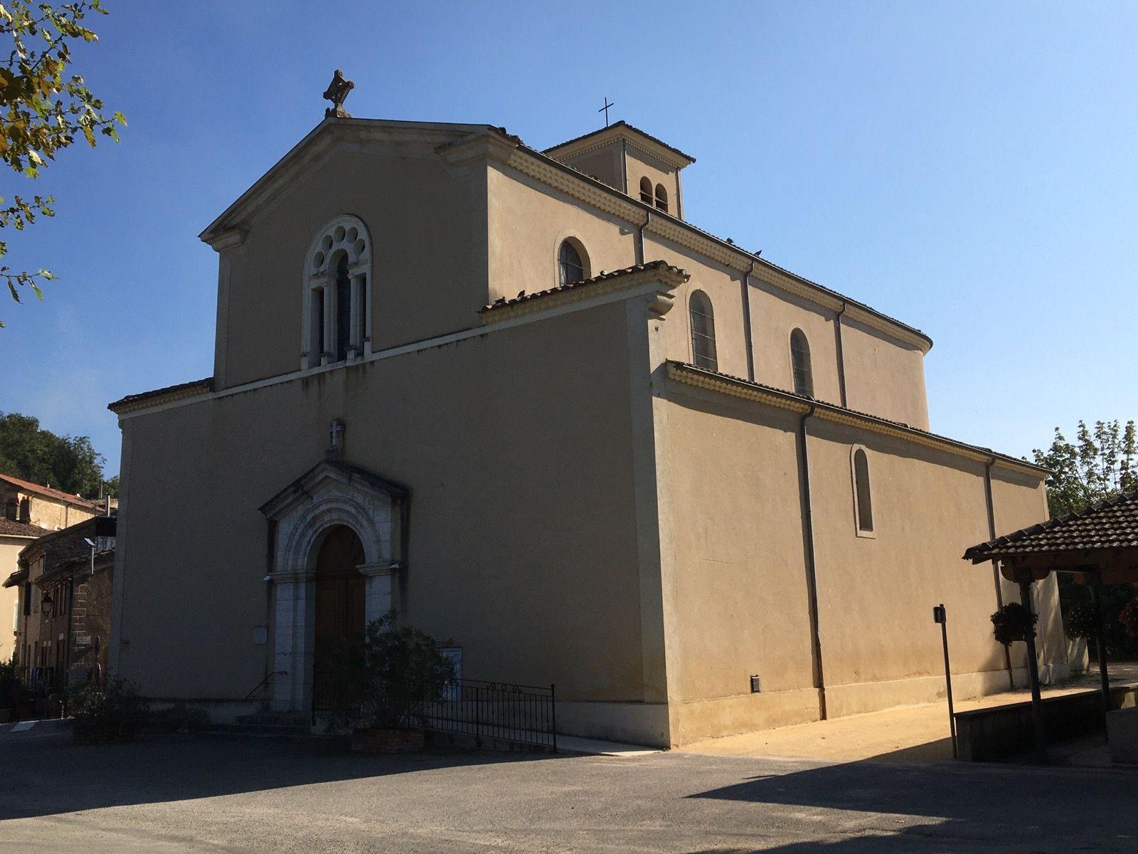 Montvendre : l'église