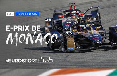 Le Championnat du monde de Formule E au cœur de Monaco en direct sur Eurosport !