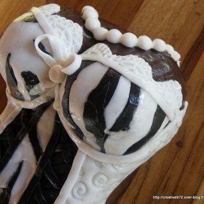 CAKE DESING BUSTE DE FEMME