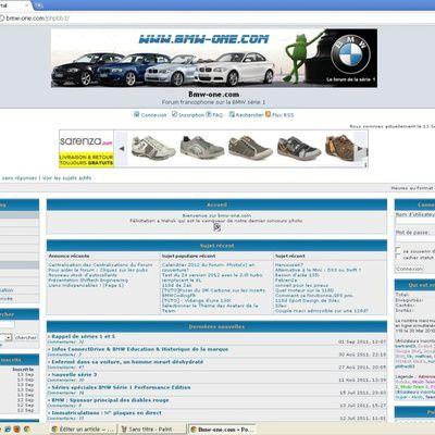 Tour sur le site Internet Bmw-one.com (prix, bons plans, etc.)