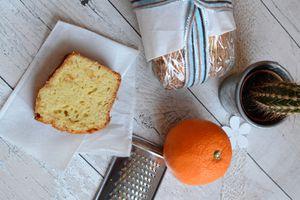Cake à l'orange confite