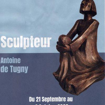 21 SEPTEMBRE - 4 OCTOBRE 2020: ANTOINE DE TUGNY expose à La Roche-Posay