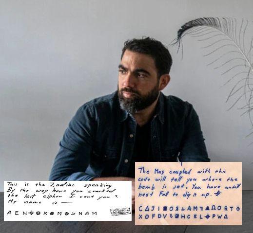 """Fayçal Ziraoui - zodiac killer - le tueur du zodiaque - décodage - codage - résolu - """"www.psycho-criminologie.com"""""""