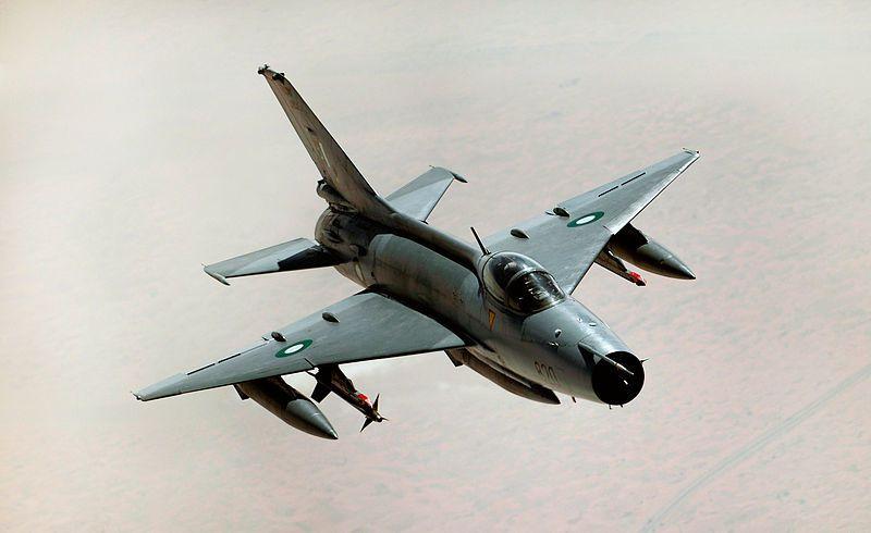 Un F-7 s'écrase au Pakistan