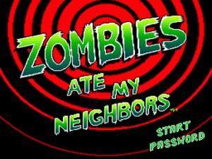 SNES Zombies Ate My Neighbors
