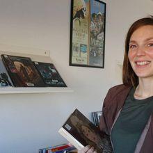 Blieux: Accueil de Tamia Baudoin, autrice de BD