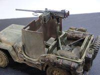 Jeep Willys blindée au 1:48 (par Marc H.)
