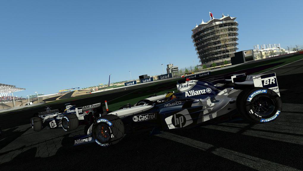 rFactor 2 Mod F1 Classics : images de  la Williams FW26