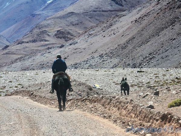 Paso de Agua Negra (Chili en camping-car)