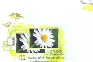 Fleur_Challenge lift à la chaîne#Made In Scrap