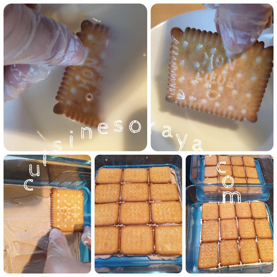 Biscuit à la crème glacée à la vanille et chocolat (sans sorbetière)