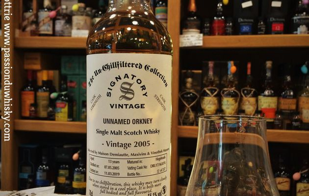 Unnamed Orkney - Cask Strength
