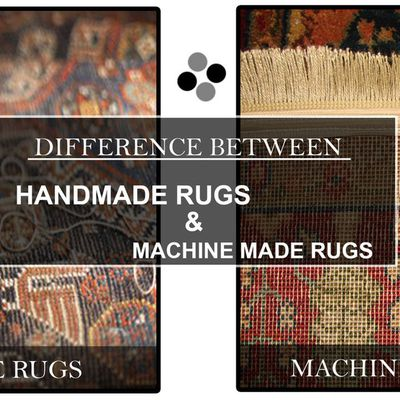 Difference Between Hand Knotted Rugs and Machine Made Decorative Rugs