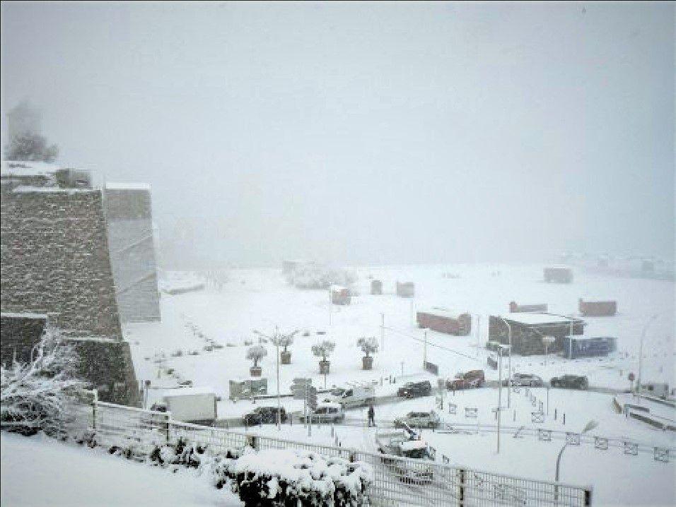 MARSEILLE sous la neige , j'y etais un souvenir de ouf