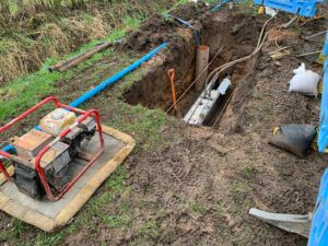 Kinds of Work Performed by Wet Utility Project laborers
