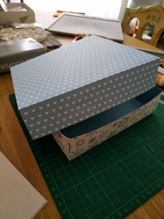 Préparer Noël tout au long de l'année : Création d'une boite