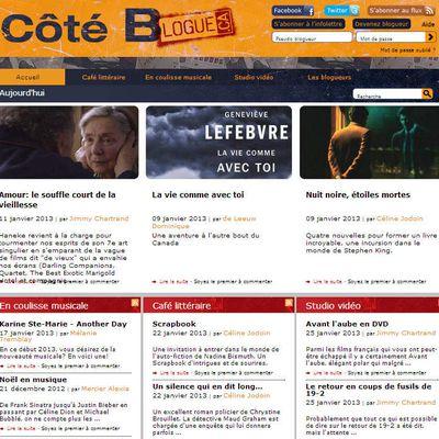 Côté Blogue, le blogue d'Archambault