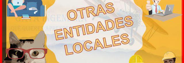 Apuntes para Opositores: OTRAS ENTIDADES LOCALES (Mancomunidades, comarcas, etc.)