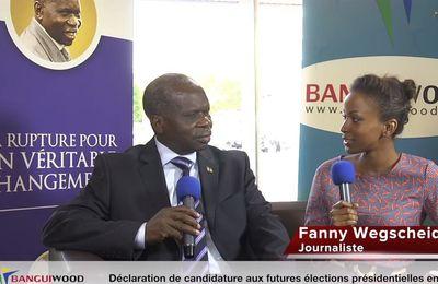 Banguiwood : Interview du candidat à la présidentielle Jean Willybiro Sako (Part. 2)