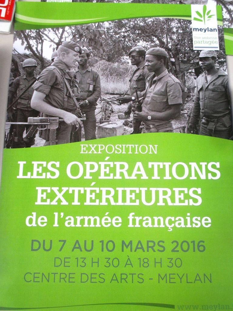 Exposition sur les opérations extérieures