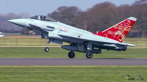 Special marking 100 years of 29(R) squadron of RAF