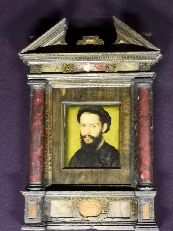 Atelier de Corneille de Lyon, Portrait présumé de Clément Marot (1496-1544), poète de François Ier, roi de France de 1515 à 1547, Huile sur toile, vers 1536-1537