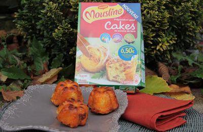 Cakes au chorizo et au Comté